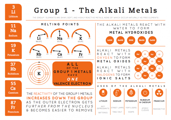 element infographics group 1 grp1 infographic - Periodic Table Name Of Group 1
