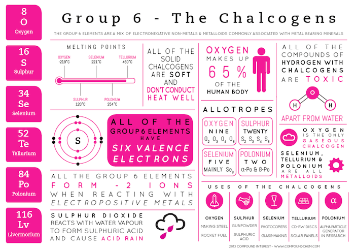 Compound interest element infographics group 6 chalcogens urtaz Choice Image
