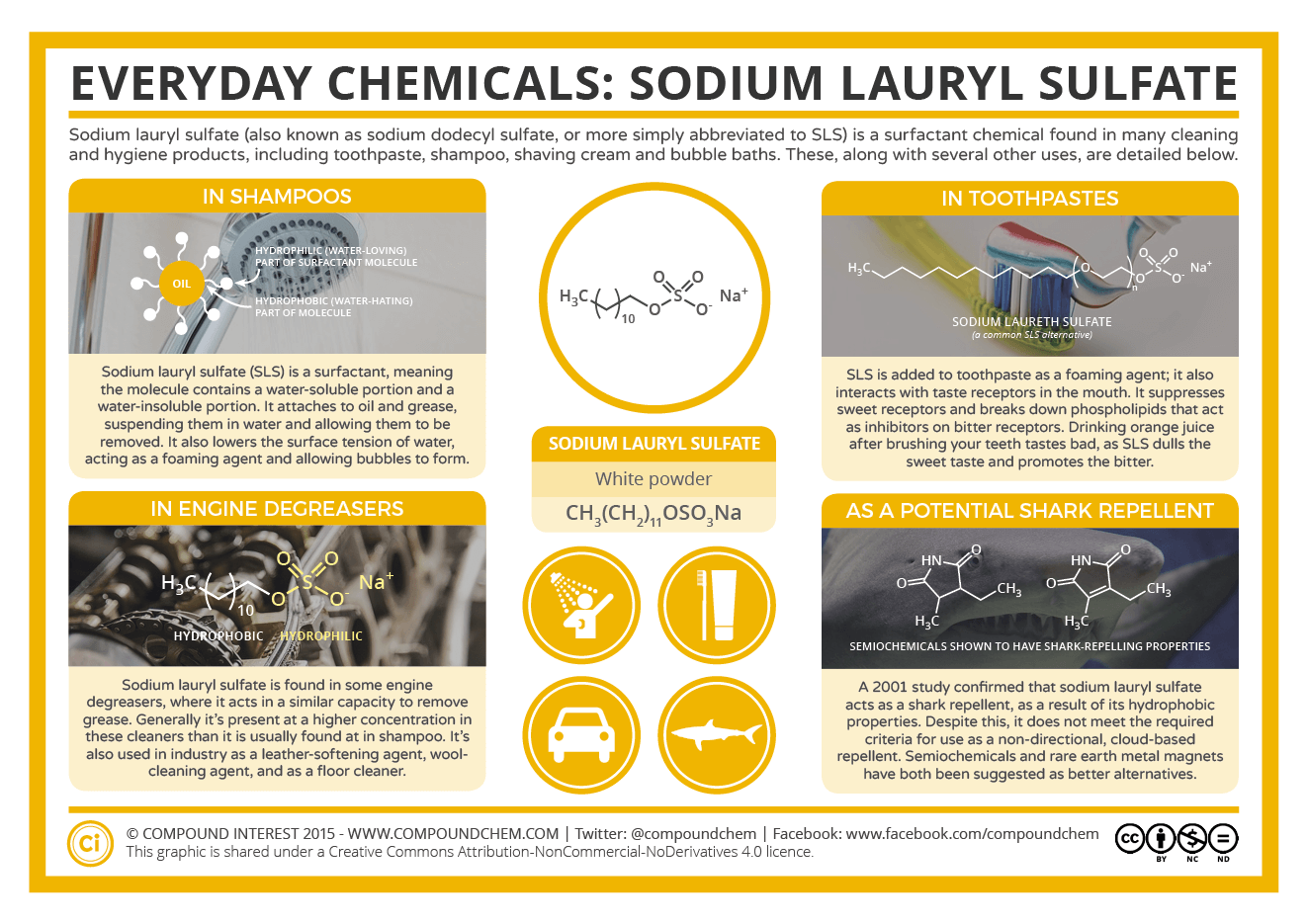 What Makes Shampoo Foam Everyday Compounds Sodium Lauryl Sulfate Compound Interest