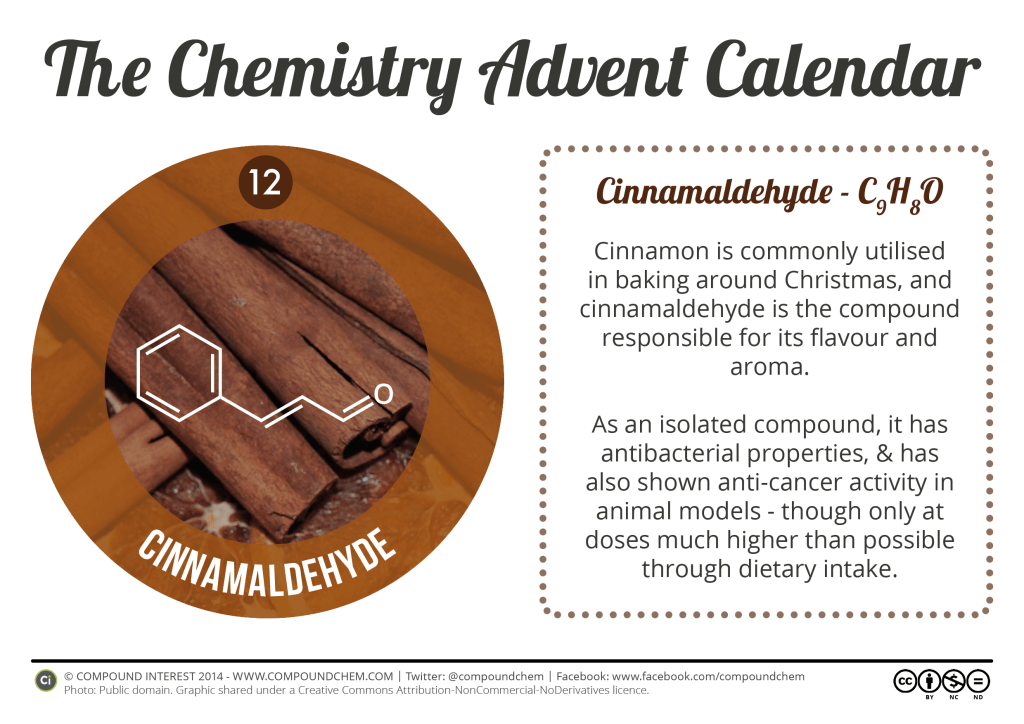 12 - Cinnamaldehyde & Cinnamon