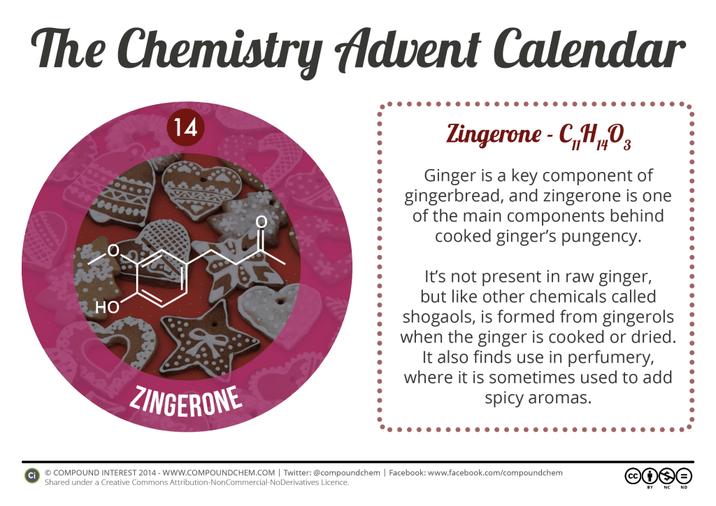 14 - Zingerone & Gingerbread