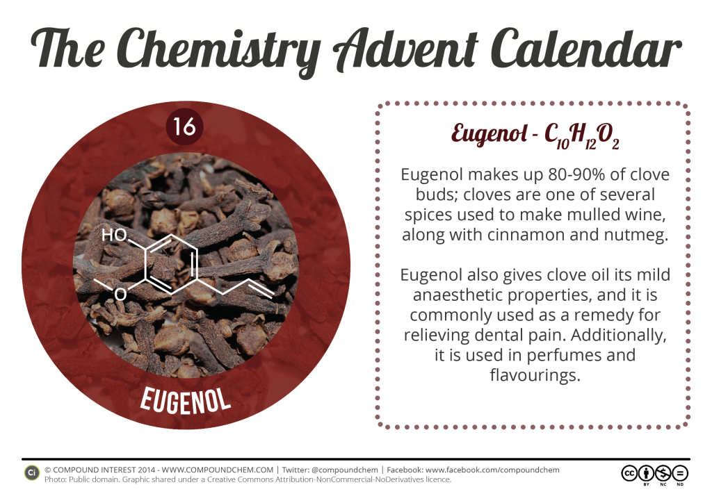 16 - Eugenol & Mulled Wine