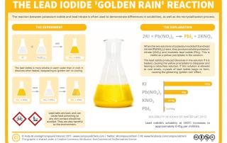 Reactions – The Lead Iodide Golden Rain Reaction
