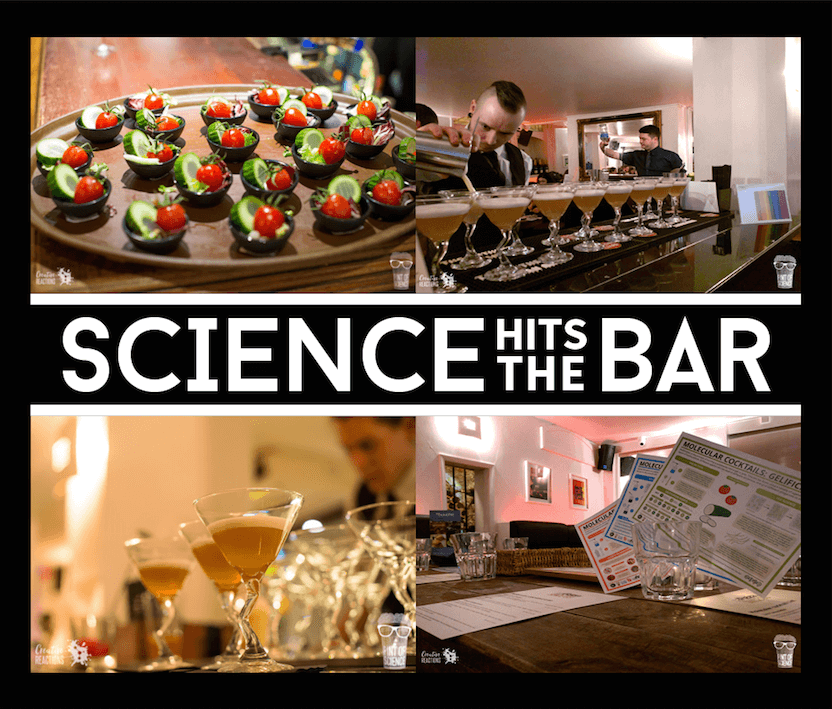SCIENCE HITS THE BAR