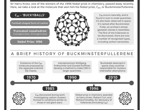 Sir Harry Kroto & Buckminsterfullerene