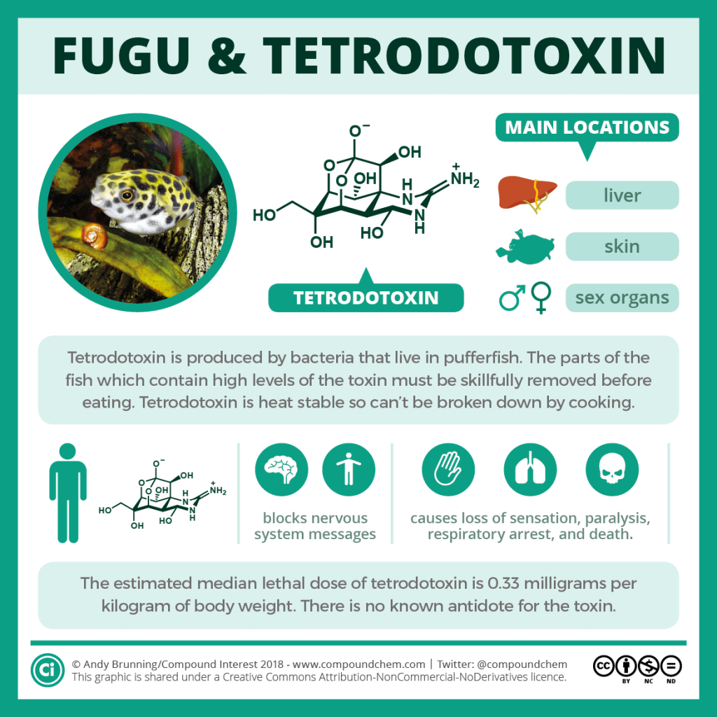 Puffer fish & Tetrodotoxin poisoning
