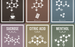 Chemical Molecule Posters