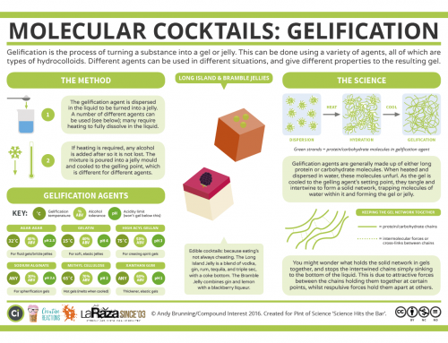 Science Hits the Bar – The Chemistry of Cocktail Gelification