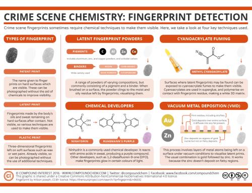 Crime Scene Chemistry – Fingerprint Detection