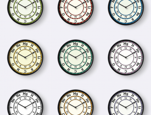 Chemical Element Clocks – available now!