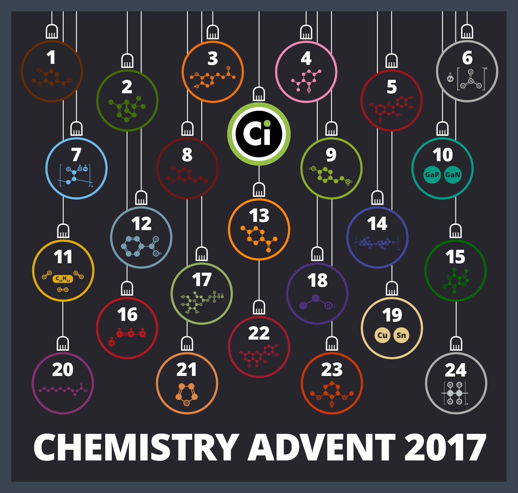 The Chemistry Advent Calendar 2017 Compound Interest